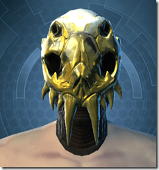 Glorious Charnel Mask - Male Front