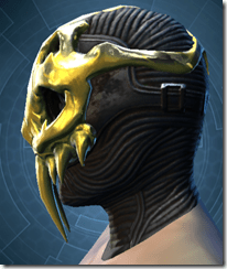 Glorious Charnel Mask - Male Left