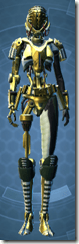 Series 79 Aureate Cybernetic - Female Front