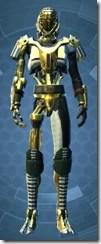Series 79 Aureate Cybernetic - Male Front
