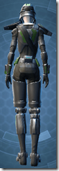 Ironclad Soldier - Female Back