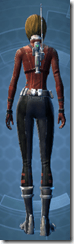 Adept Scout - Female Back