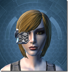 Black Efficiency Scanner - Female Front