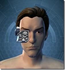 Black Efficiency Scanner - Male Front