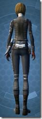 Daring Rogue - Female Back