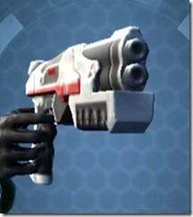 Interstellar Regulator's Blaster Pistol Besh Front