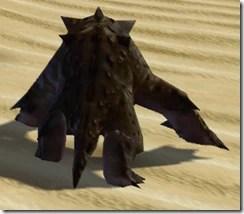 Desert Kell Dragon - Back