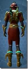 Dread Master Inquisitor - Male Back