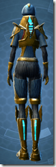 Dread Master Trooper - Female Back