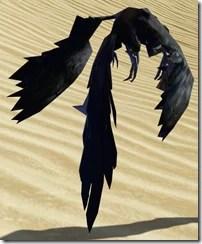 Ebon-wing Flutterplume - Back