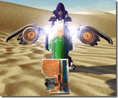 Lucky-77 Swoop Speeder Front