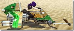 Lucky-77 Swoop Speeder Side