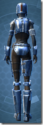 Mandalorian Hunter - Female Back