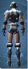 Series 858 Cybernetic - Male Back