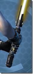 Vindicator's Lightsaber Back