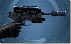 Kingpin's Blaster Pistol