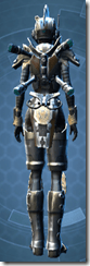 Mandalorian Clansman - Female Back