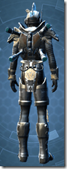 Mandalorian Clansman - Male Back