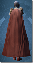 Mandalore the Ultimate - Female Back