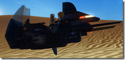 Droid Officer Transport - Clipping