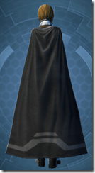 Malak's Shadow Armor - Female Back