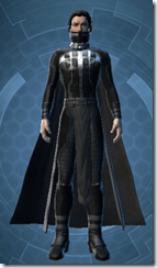 Malak's Shadow Armor - Male Front