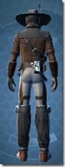Shrewd Rascal - Male Back