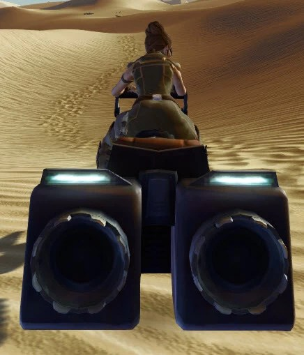 Boosted Classic Speeder (Brown) Back