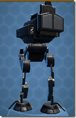 GZ-2 Recon Walker - Back
