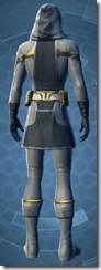 Noble Attendant - Male Back
