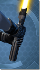 Stronghold Defender's Lightsaber Back