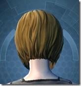 Stylish Defender's Goggles - Female Back