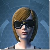 Stylish Defender's Goggles - Female Front