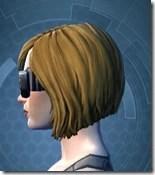 Stylish Defender's Goggles - Female Left