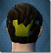 Stylish Defender's Goggles - Male Back