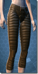 Mandalore the Indoimitable Female Greaves