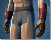 Mandalore the Indoimitable Male Gauntlets