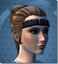 Mantellian Privateer Headgear Female
