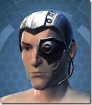 Series 614 Cybernetic Skull Male