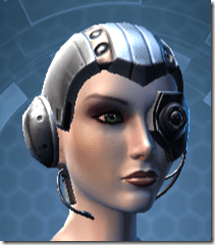 Series 616 Cybernetic Female Skull