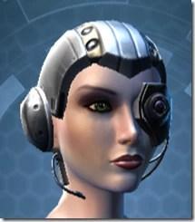 Series 616 Cybernetic Female Skull