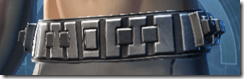 Series 616 Cybernetic Male Belt