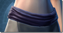 Balanced Combatant Female Sash