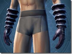 Balanced Combatant Male Vambrace