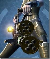 Czerka CZX-4 Assault Cannon - Front