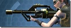 Czerka CZX-4 Blaster Rifle - Left