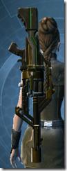 Czerka CZX-4 Blaster Rifle - Stowed