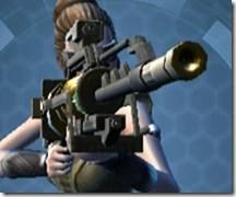 Czerka CZX-4 Sniper Rifle - Front