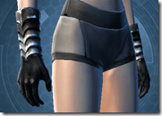Ghostly Magus Female Gloves