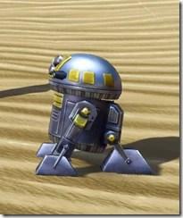 M8-3R Astromech Droid - Side